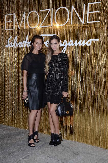 Yasmine and Amber Le Bon