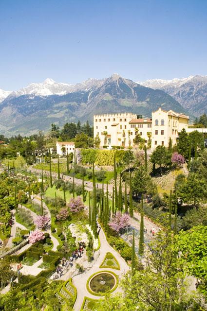 Veduta-verticale-Giardini-di-Sissi