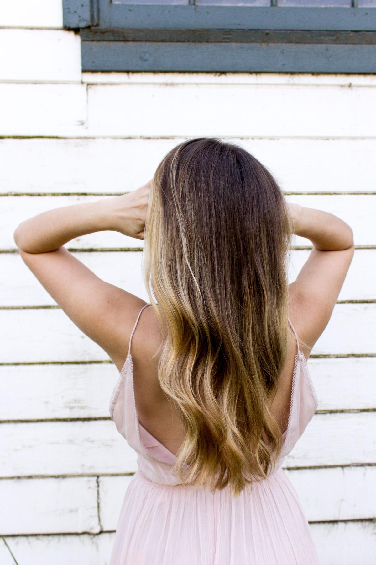 perdita di capelli rovinati sfibrati estate