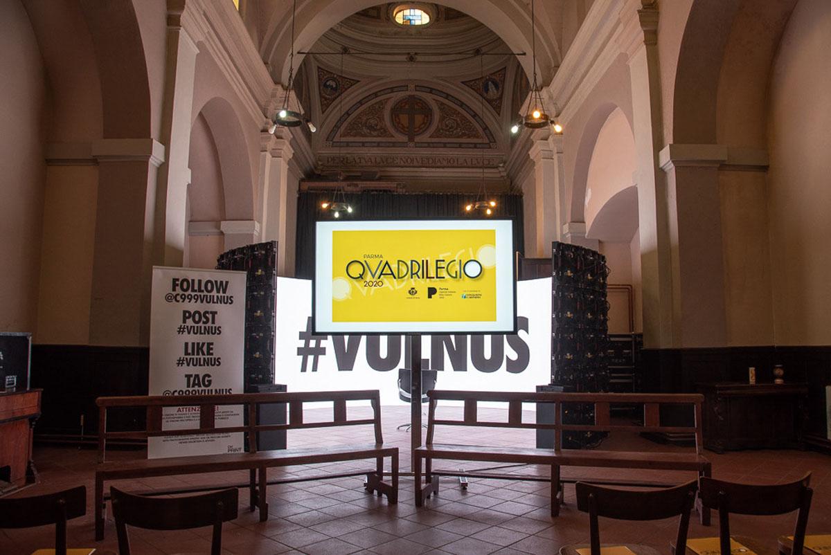 Quadrilegio 2020 - Chiesa Evangelica - Inaugurazione - C999 Vulnus